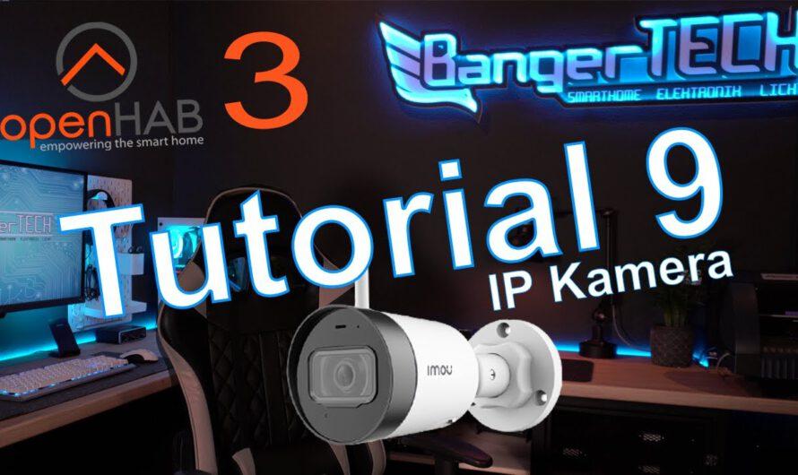 openHAB 3 Tutorial 9 – IP Camera Binding –