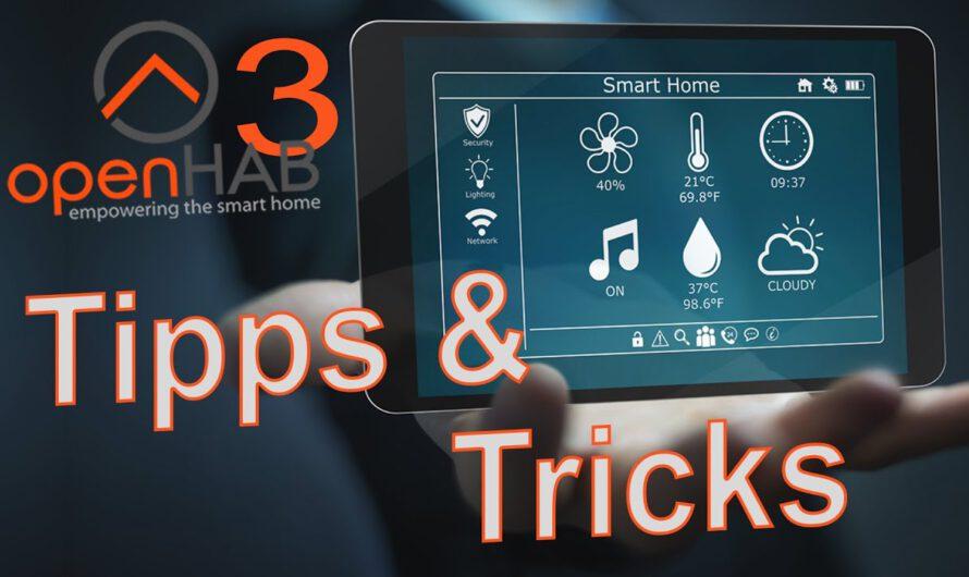 Tipps & Tricks in openHAB 3