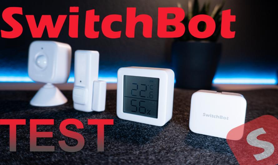"""SwitchBot """"Bot"""" Geräte Test"""