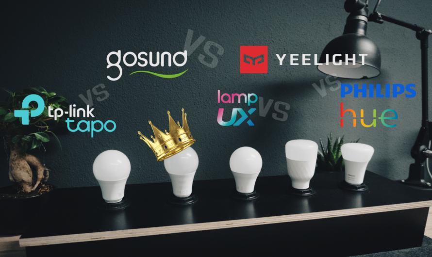 Smarte LED Lampen Vergleich